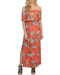 1 STATE 1state Off The Shoulder Blouson Maxi Dress