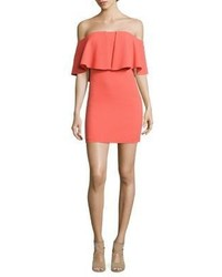 Trina Turk Miradora Off The Shoulder Mini Dress