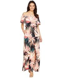 Maggy London Off The Shoulder Maxi Dress Dress