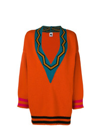 M Missoni V Neck Oversized Sweater