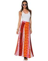 Lenni spear maxi skirt medium 130024