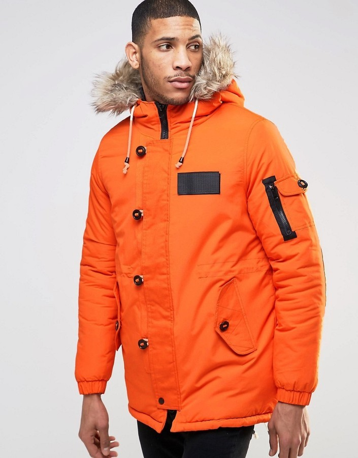 Bellfield Arctic Parka Jacket | Where to buy & how to wear