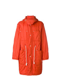 Maison Margiela Loose Fitted Parka Coat