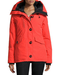 Canada Goose Rideau Hooded Parka Monarch Orange