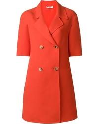 Short sleeve double breasted coat medium 3638553