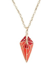 Stephen Webster Enamel Spike Pendant Necklace