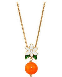 Kate Spade New York Citrus Crush Mini Pendant Necklace