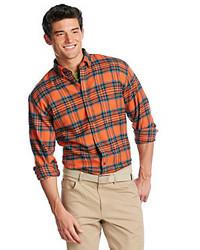 John Bartlett Consensus Long Sleeve Plaid Button Down Shirt