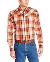 Retro western woven shirt r197m medium 199382