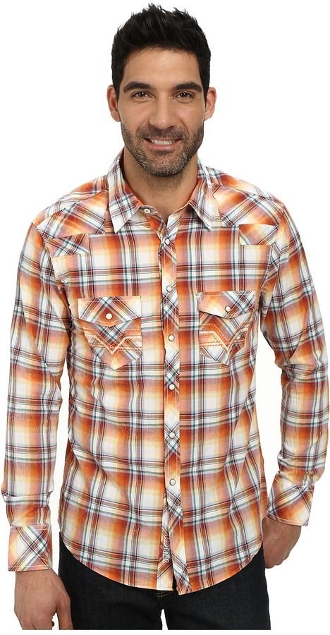 73853f25 Rock And Roll Cowboy Long Sleeve Snap B2s3019, $69 | Zappos ...