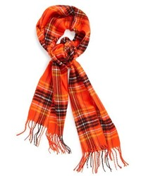 Check woven scarf medium 121746