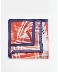 Vivienne Westwood Check Pocket Square