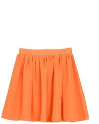 Chicnova elastic waist double layered chiffon skirt medium 109269