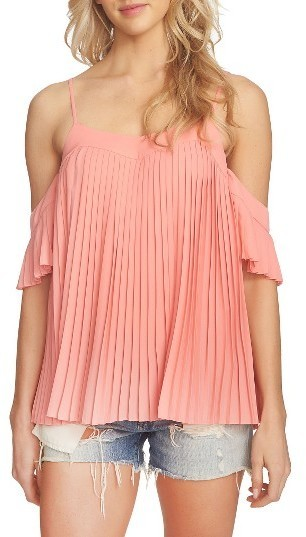 7e4832a5023 1 STATE 1state Pleated Off The Shoulder Top, $89 | Nordstrom ...