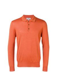 Canali Longsleeved Jersey Polo
