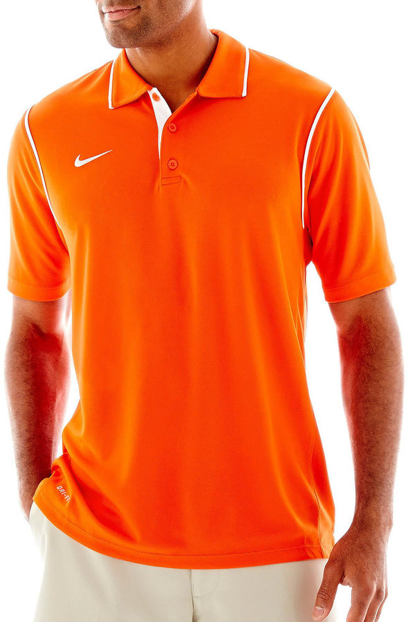 0ca92513 Men's Fashion › T-shirts › Polos › jcpenney › Nike › Orange Polos Nike Dri  Fit Polo