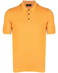 Roberto Collina Ribbed Hem Polo Shirt