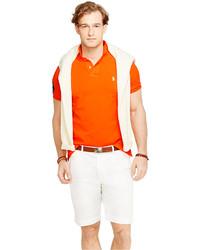 4514199f Polo Ralph Lauren Wimbledon Custom Fit Polo Shirt, $85 | Macy's ...