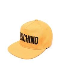 Orange Print Baseball Cap
