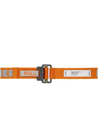 Heron Preston Orange Kk Tape Belt