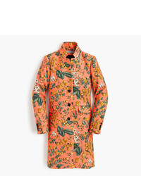 J.Crew Collection Regent Topcoat In Ratti Fruity Floral Print