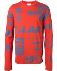 Maison Margiela Motif Print Sweatshirt
