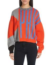 Proenza Schouler Pswl Graphic Logo Sweater