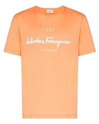 Salvatore Ferragamo 1927 Signature Cotton T Shirt