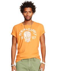 Denim & Supply Ralph Lauren Cotton Graphic T Shirt
