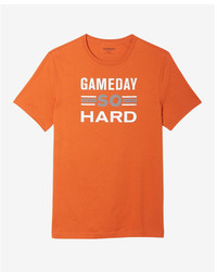 Express Gameday So Hard Crew Neck Graphic Tee