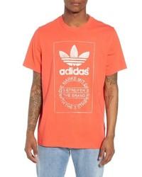 adidas Originals Hand Drawn Logo T Shirt