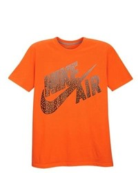 Nike Graphic T Shirt Electro Orange