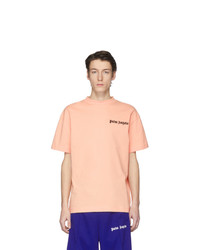 Palm Angels Pink New Basic T Shirt