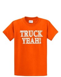 Trenz Shirt Company Truck Yeah T Shirt Country Music Concert Tee Orange Xl