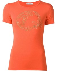 Versace Collection Studded Medusa T Shirt