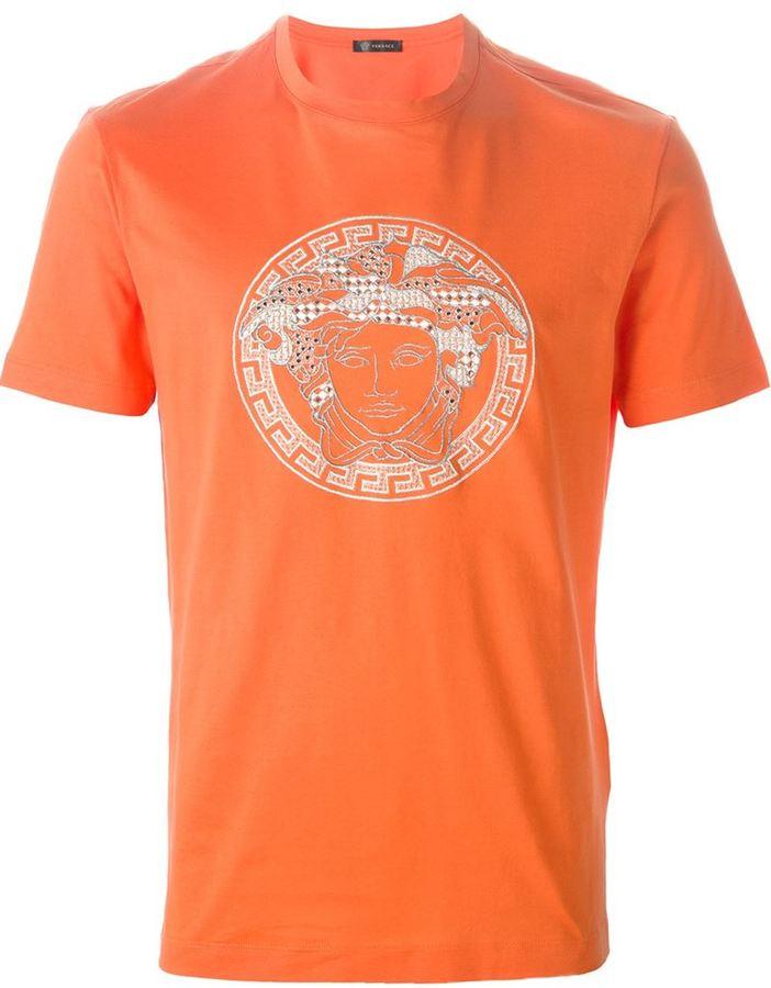 Orange Versace Shirt