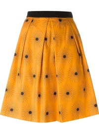 Eggs carlito sun print full midi skirt medium 547598