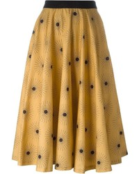 Eggs sun print full skirt medium 547596