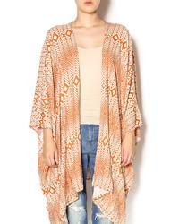 Chaser Scarf Print Kimono