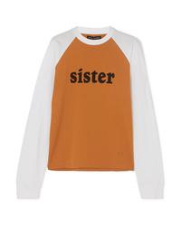 Acne Studios Eggan Printed Cotton Jersey T Shirt