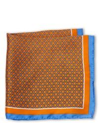 Pierre Cardin 100% Silk Chain Link Pocket Square