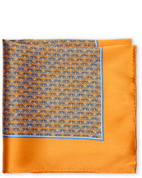 Silk Good Luck Link Pocket Square