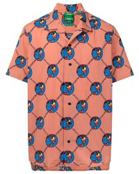 Lacoste Graphic Print Polo Shirt