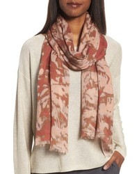 Print silk wool scarf medium 5035090