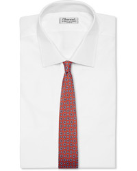 Dunhill Printed Mulberry Silk Tie