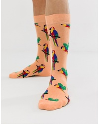 Happy Socks Parrot Socks