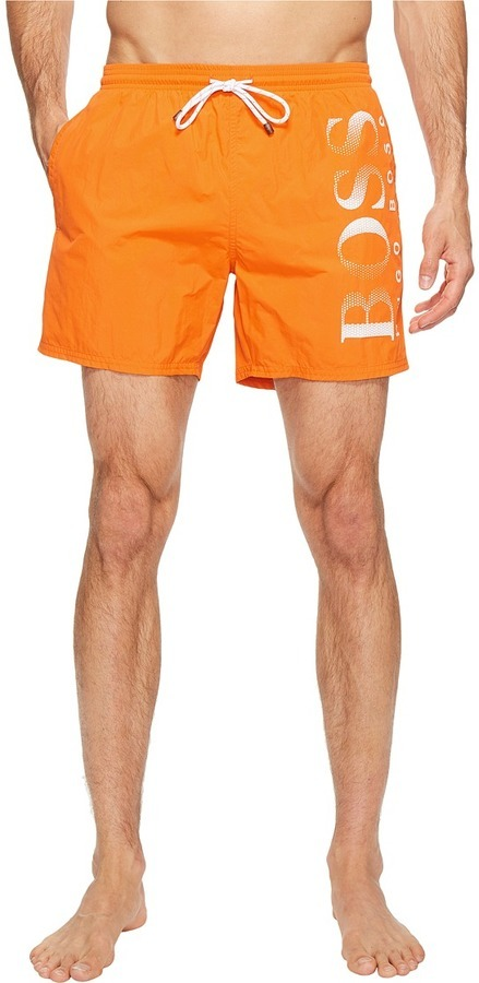 aa97ebe16 ... Orange Print Swim Shorts Hugo Boss Boss Octopus 10197683 01 Trunk  Swimwear ...