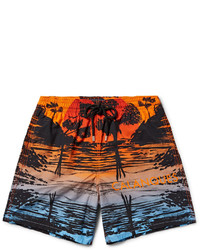 Moorea mid length printed swim shorts medium 3647645