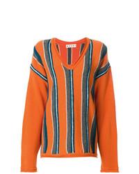 Marni Oversized Striped Sweater