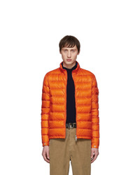 Moncler Orange Down Lambot Jacket